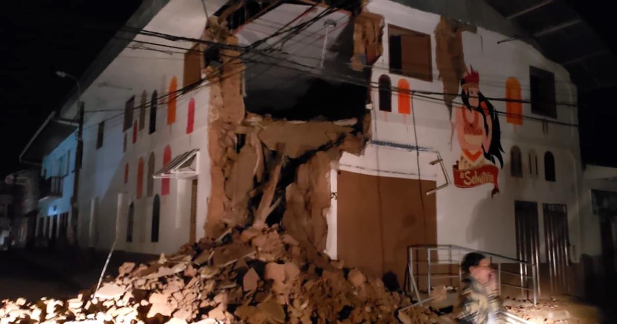 Erdbeben der Stärke 8,0 in Peru | kurier.at