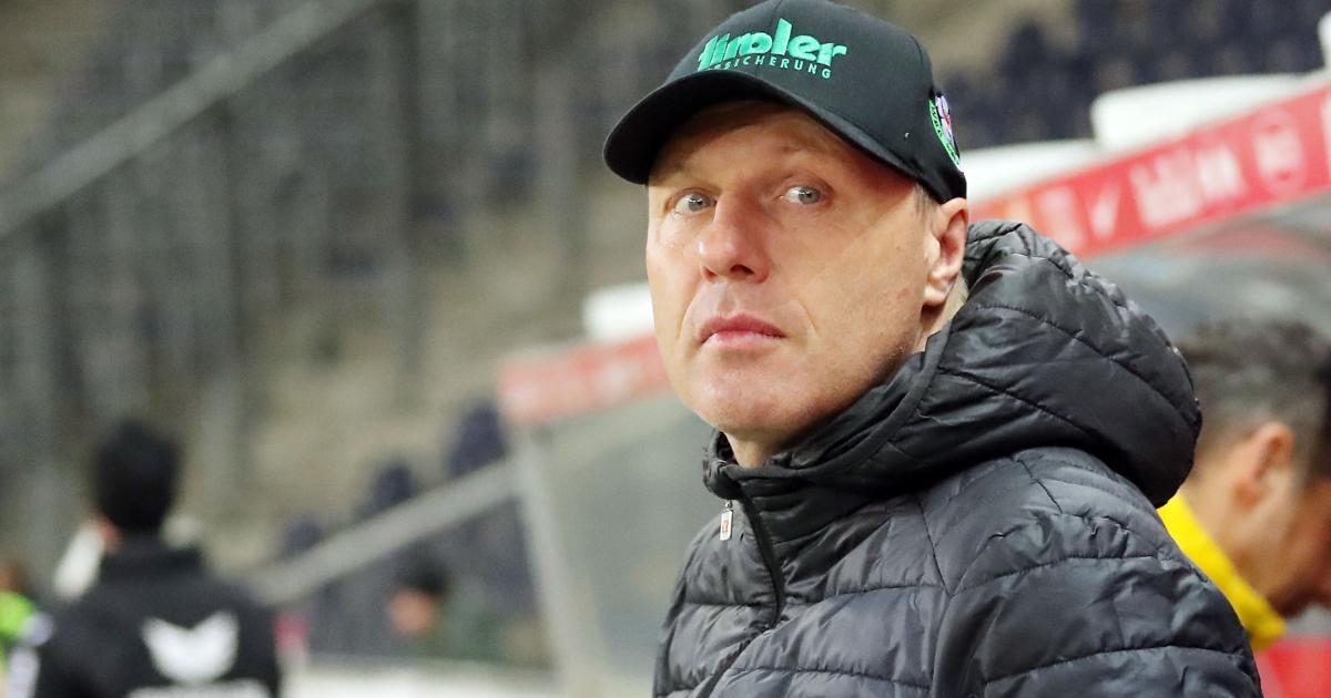 Tiroler Neustart mit Stefan Maierhofer auf der Bank