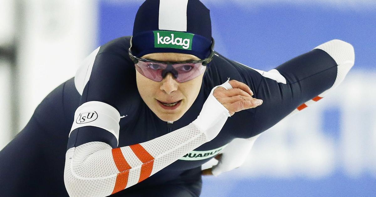 Eisschnellläuferin Herzog über 500 m in Calgary Weltcup-Dritte