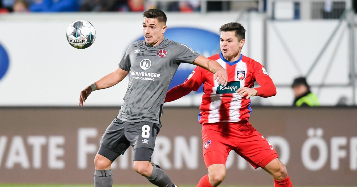 2. deutsche Liga: Dovedan-Blitztreffer bei Nürnbergs Remis