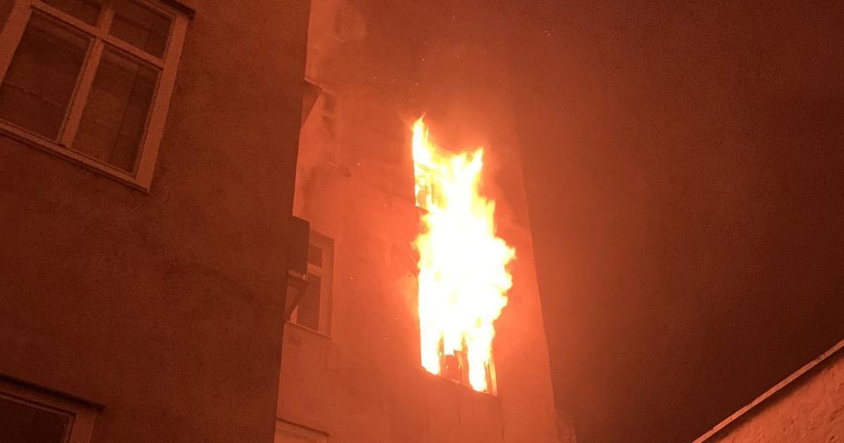 Mehrere Verletzte nach Zimmerbrand in Wien-Mariahilf
