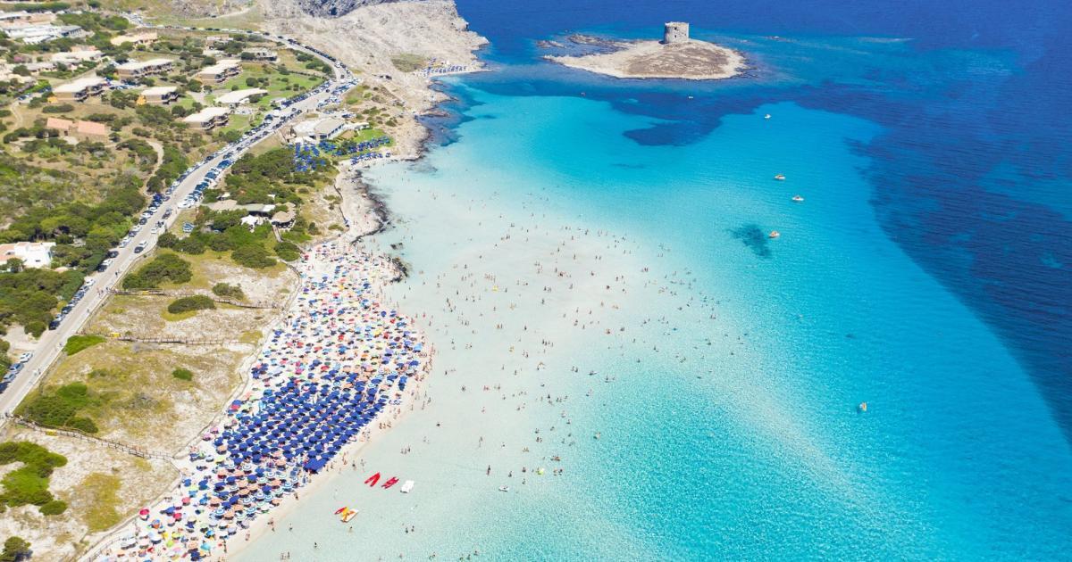 Sardinien: Nur mehr 1.500 Personen dürfen auf den Traumstrand
