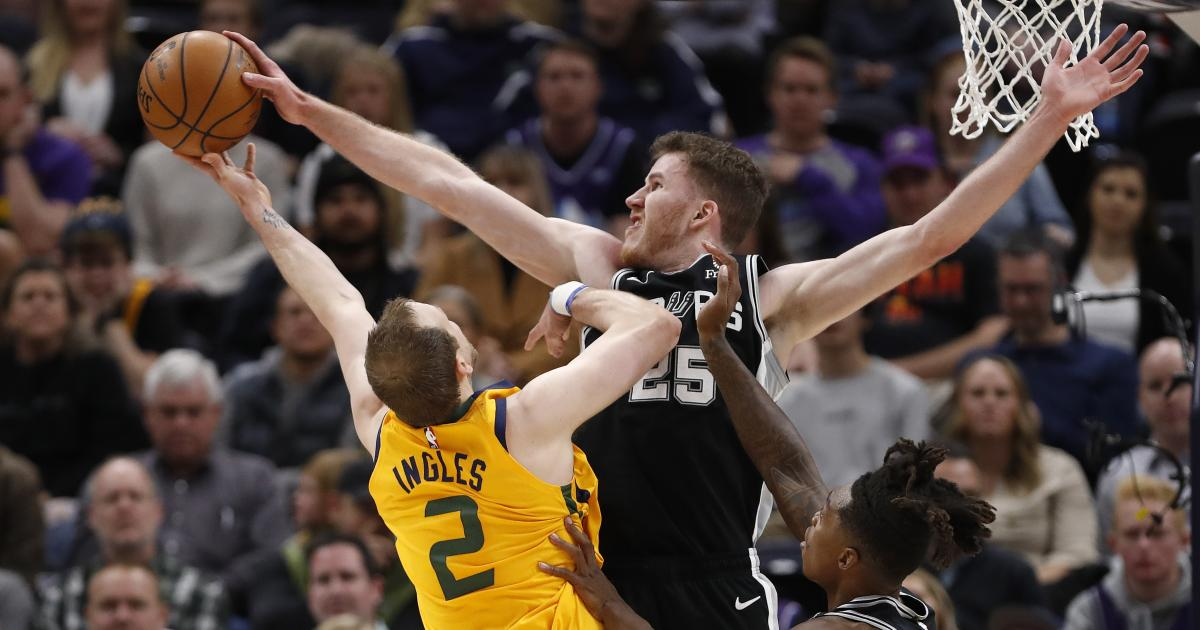 NBA: San Antonio Spurs feiern Sieg nach der All-Star-Pause