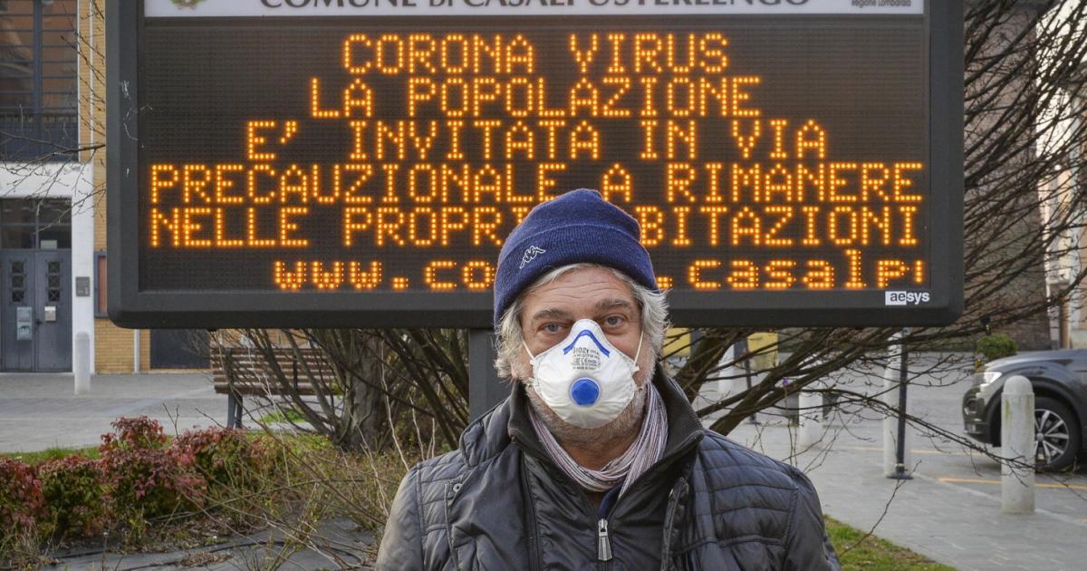 Coronavirus: Norditalien schottet sich ab, dritter Todesfall