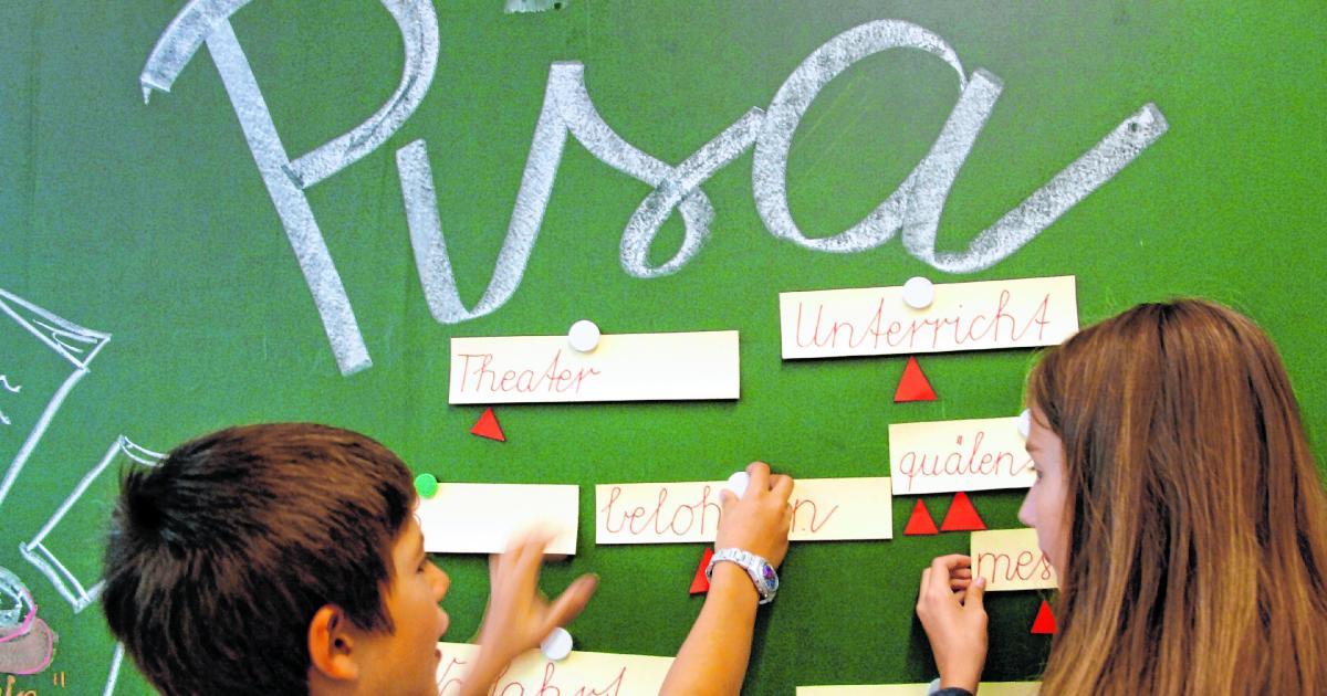 PISA-Test: Österreichs Schüler strengten sich kaum an