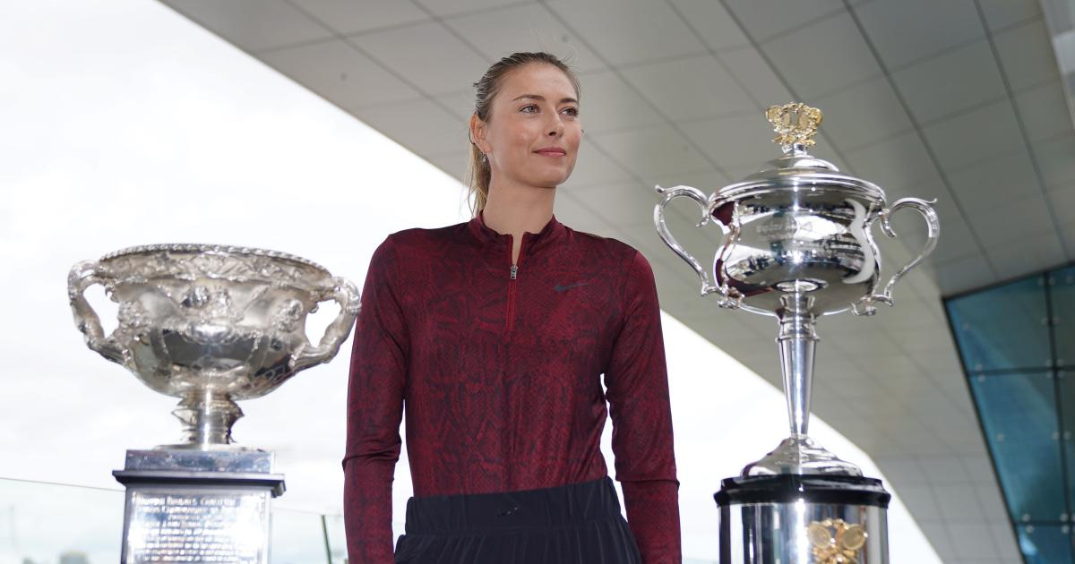 Tennis-Diva Maria Scharapowa erklärte ihren Rücktritt