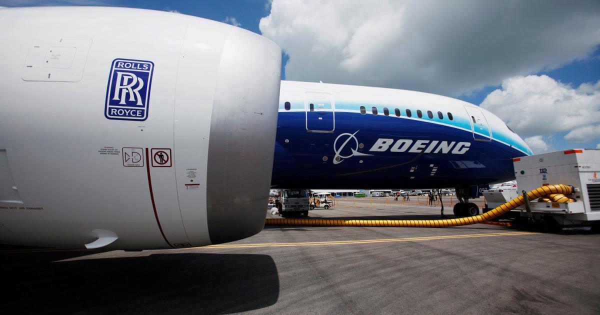 """Dreamliner""""‐Triebwerksprobleme belasten Rolls‐Royce ‐ Hoher Verlust"""