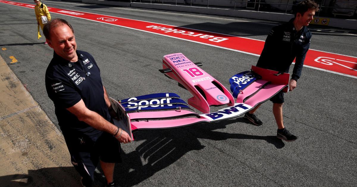 Die Formel 1 packt an und produziert medizinische Geräte