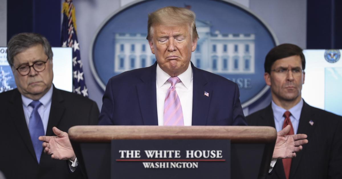 Trumps größte Fehler im Corona-Management