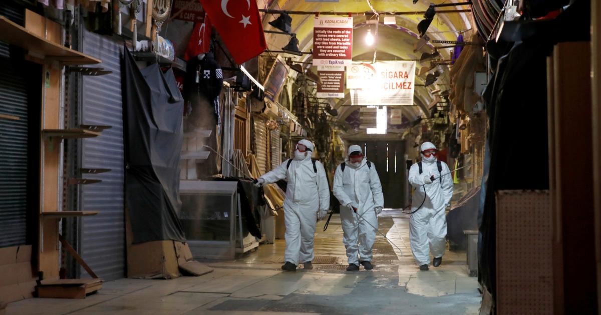 Türkei: Eigene Spitäler für Corona-Patienten und Massengräber