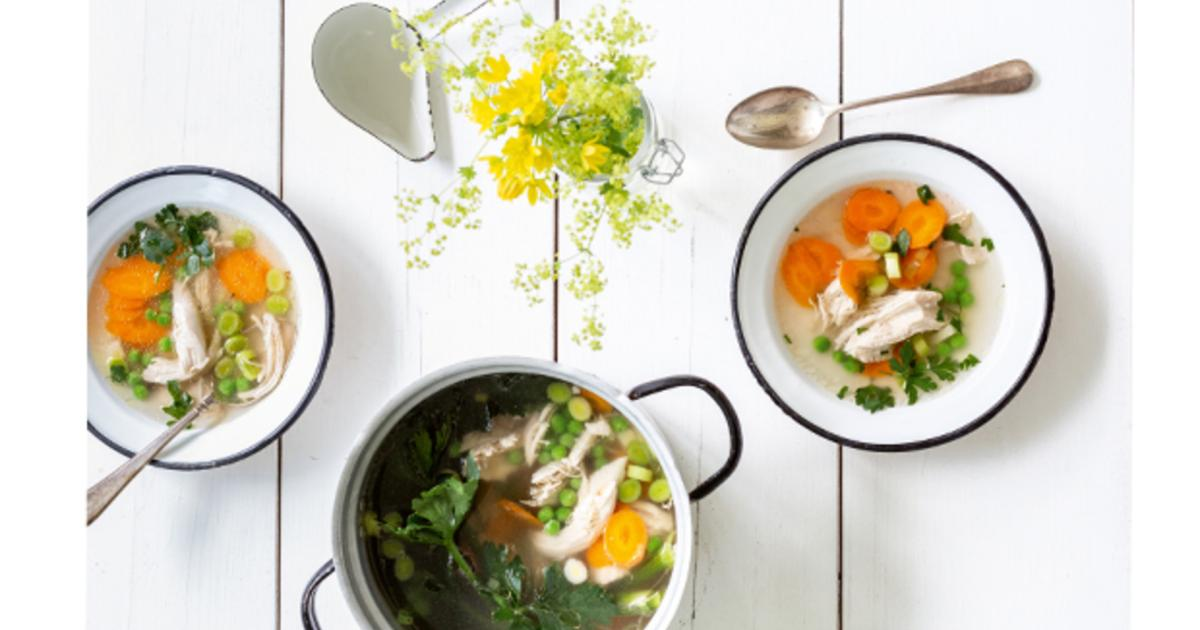 Rezept der Woche: Wohltuende Hühnersuppe