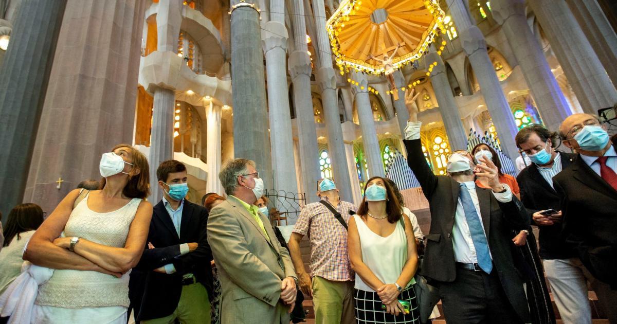 Halleluja: Barcelonas Sagrada Familia hat wieder offen
