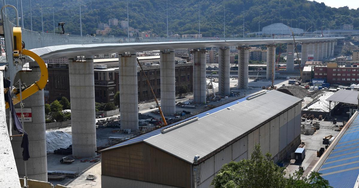 Genua Neue Brücke