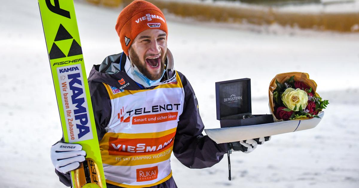 Skispringen: Klarer Sieg für Eisenbichler, B-Team des ÖSV zurück