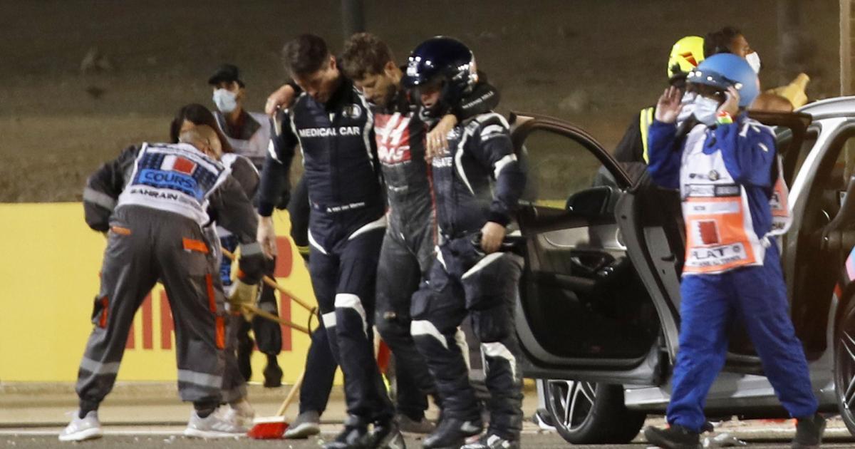 Nach dem Horror-Crash in Bahrain: Die Wunder der Formel 1