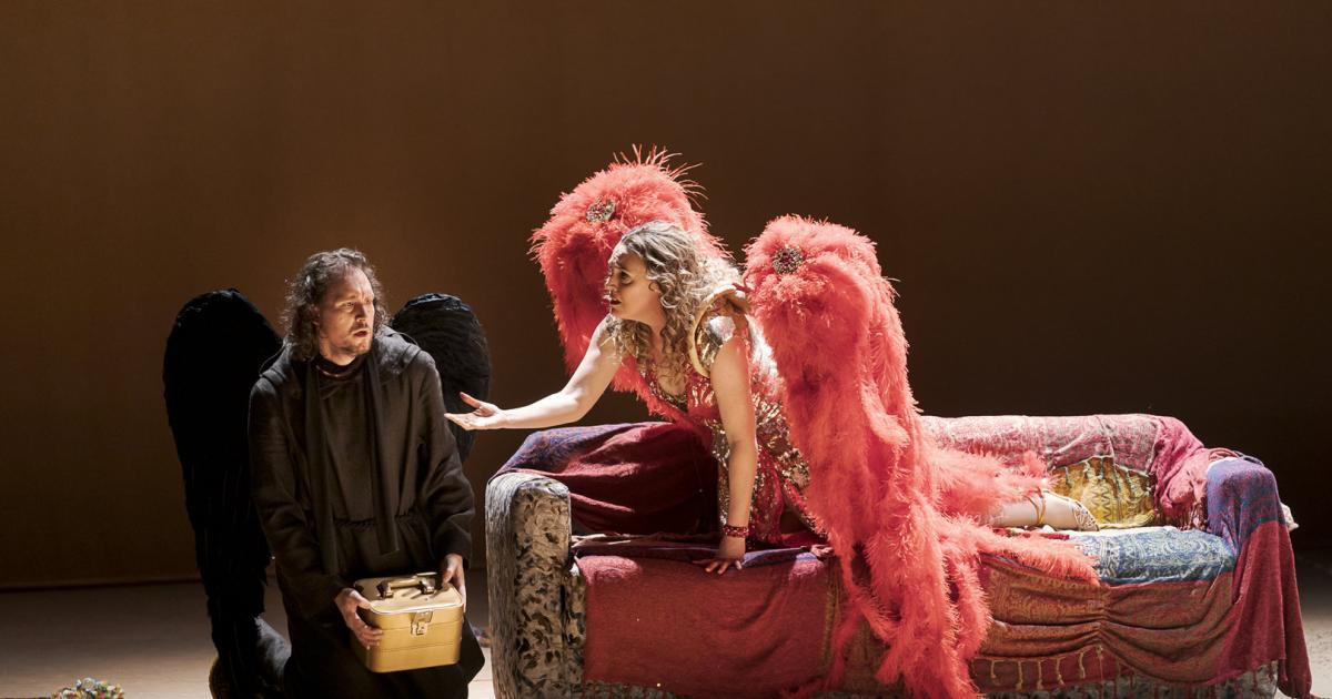 "Thaïs"" im Theater an der Wien: Fest der gebrochenen Flügel | kurier.at"