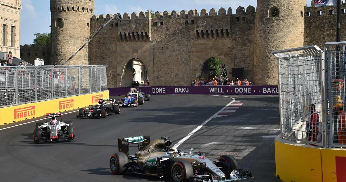 Rennen Baku
