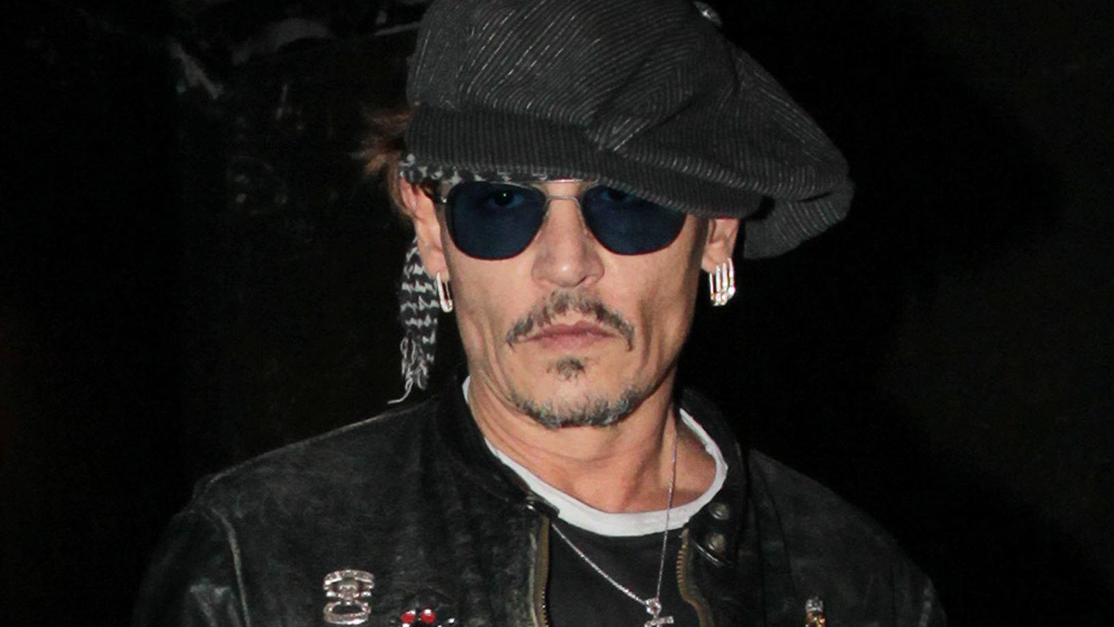 Nach Rosenkrieg: Johnny Depp abgemagert   kurier.at