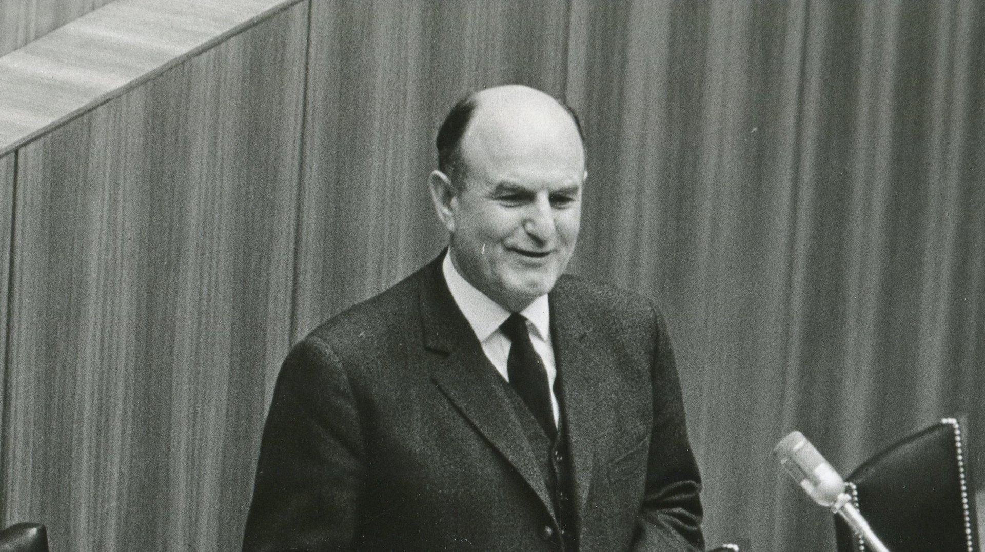 Letzter Budgetüberschuss im Jahr 1962
