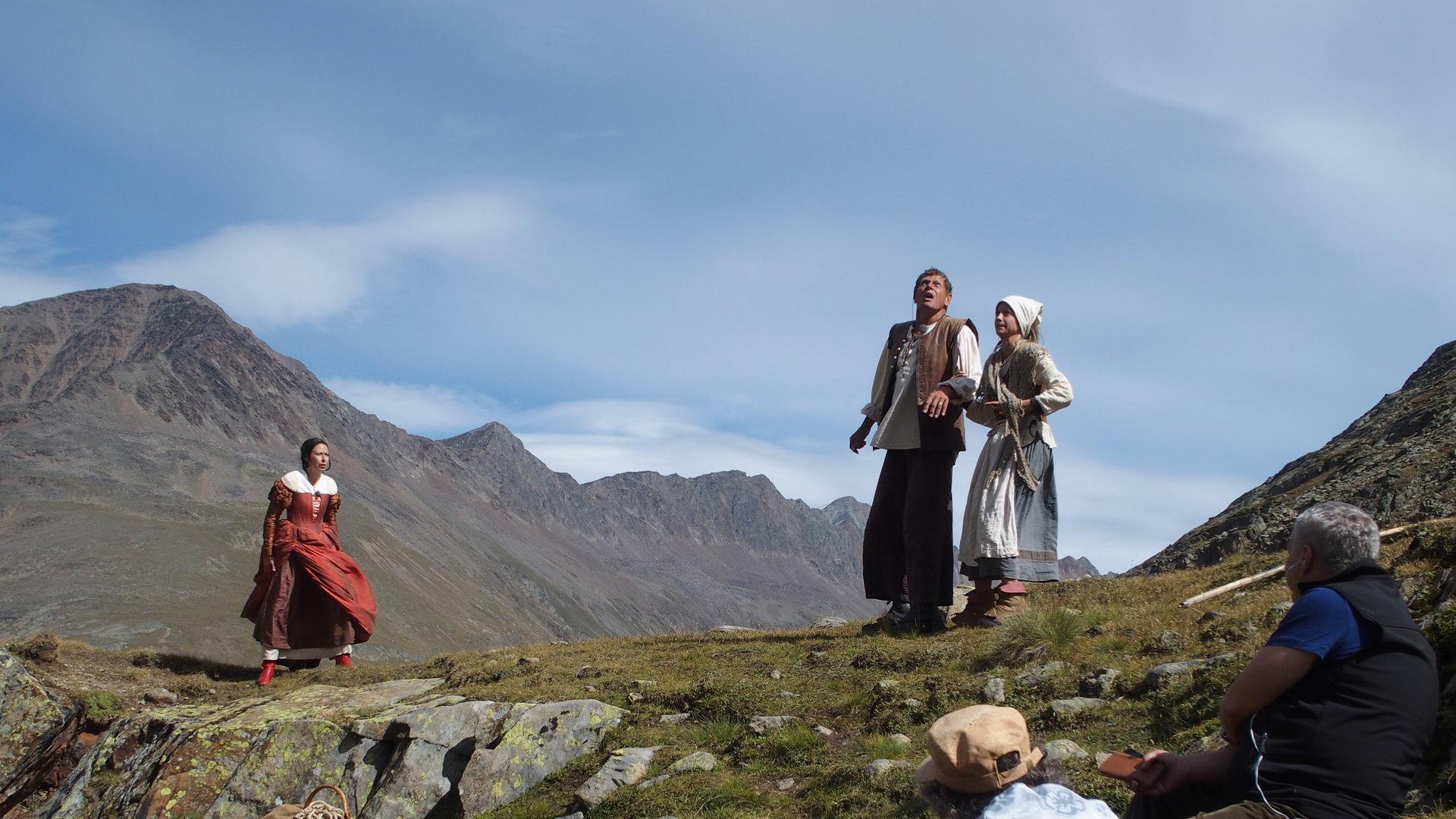 Wandertheater auf dem Berg | kurier.at
