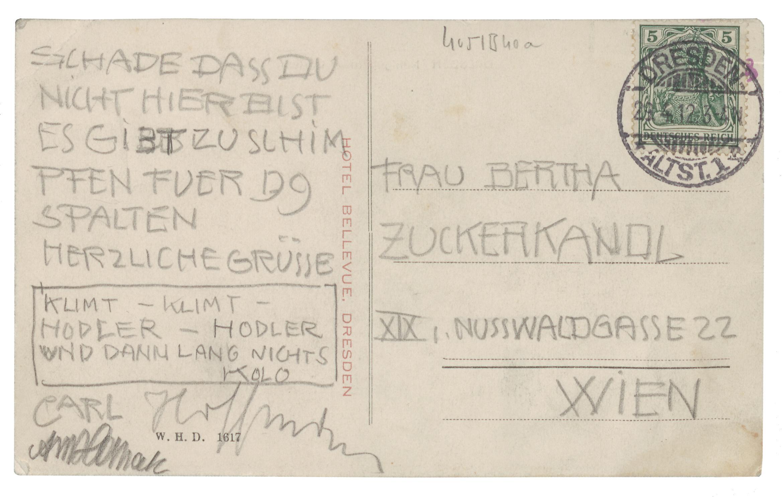 Ausstellung im Literaturmuseum: Als Wien Weltgeltung erlangte
