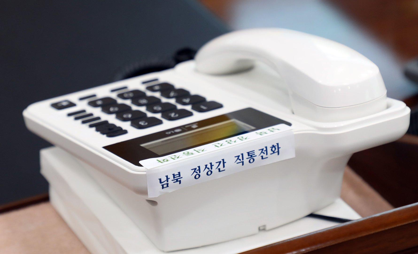 Süd- und Nordkorea öffnen erstmals Hotline zwischen Staatschefs