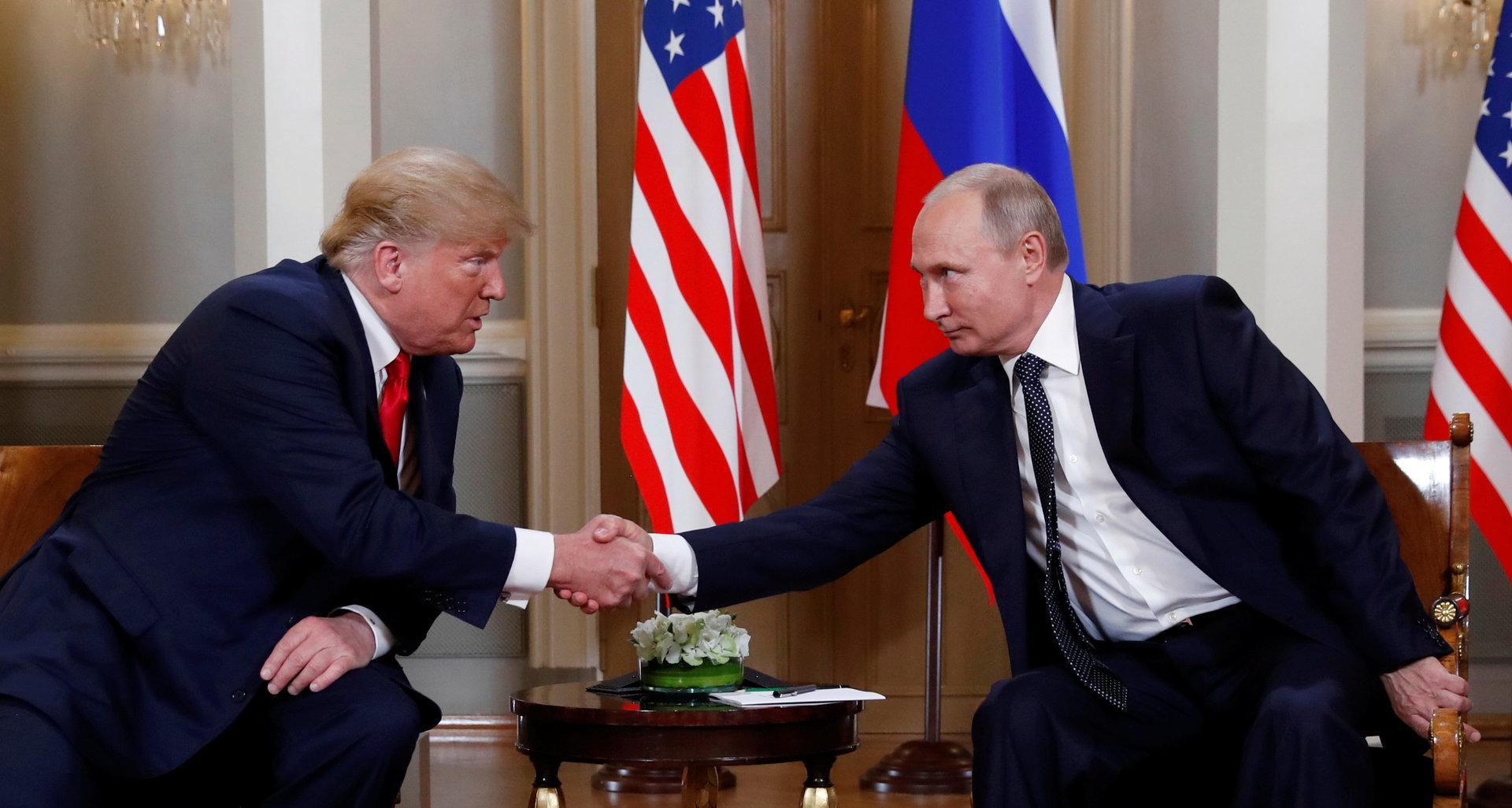 Trump und Putin in Helsinki: Streichelzoo mit Alphatieren