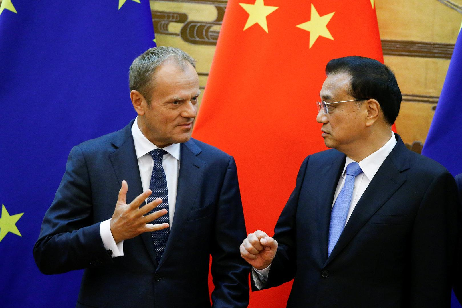 """EU und China: Klare Signale gegen """"America first"""""""
