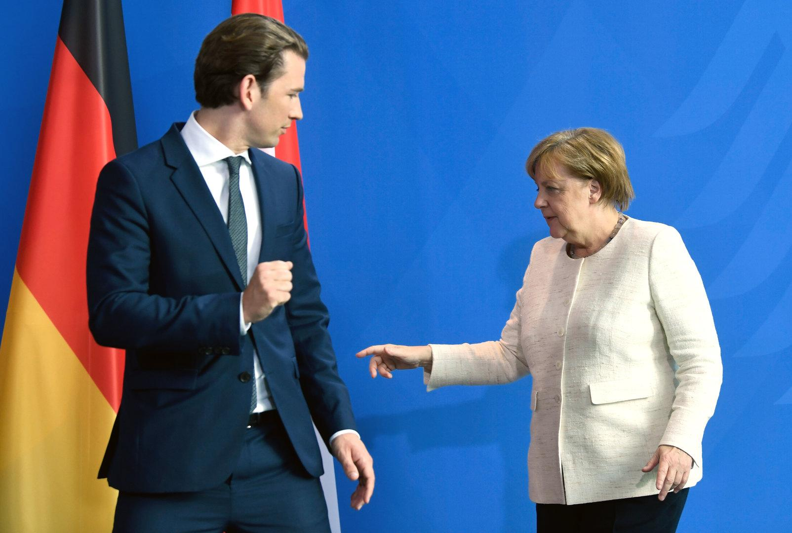 """Österreich, """"Labor Europas"""": Kurz trifft Merkel"""