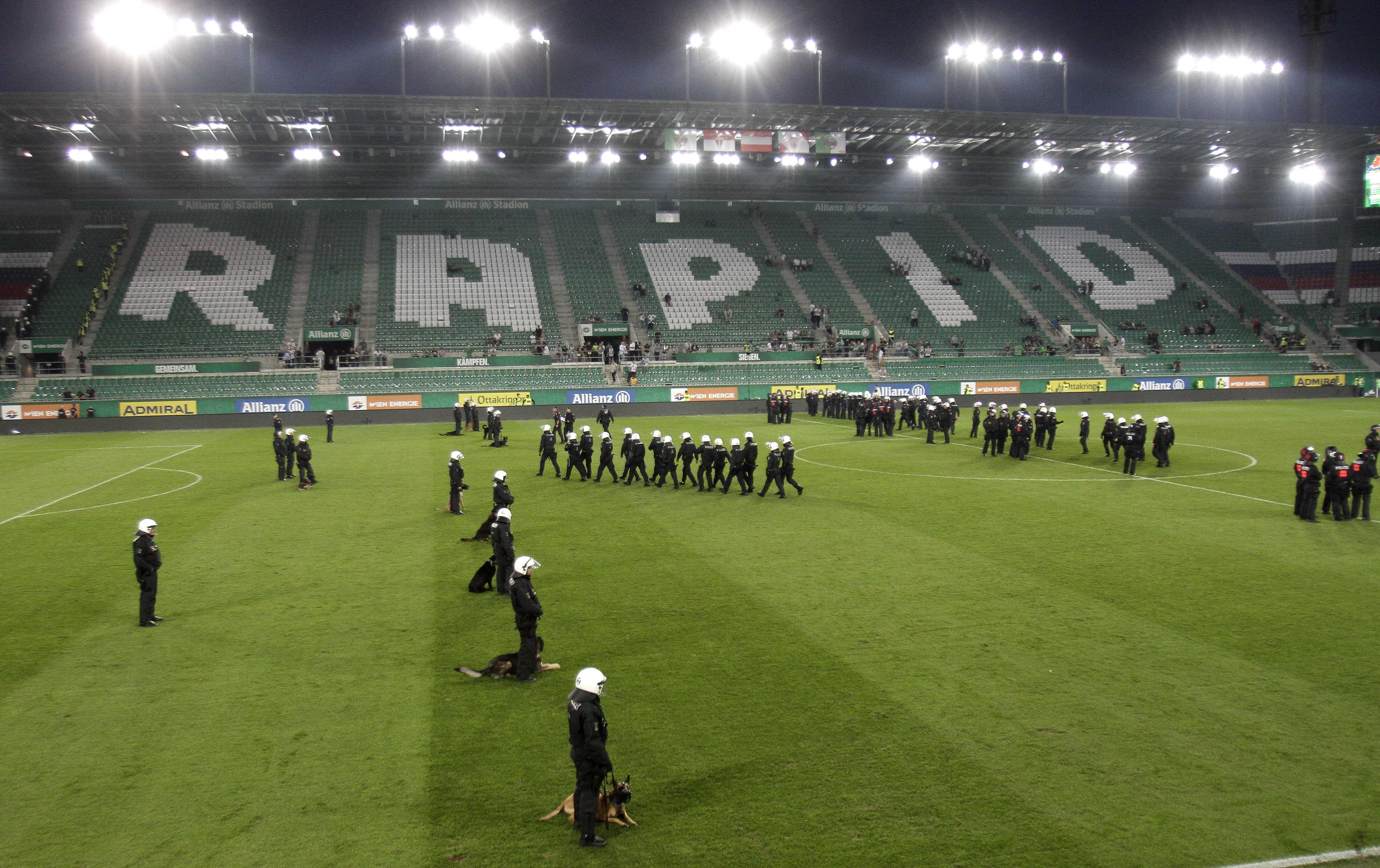 Derby-Nachspiel: Rapids Sturm ins Abseits