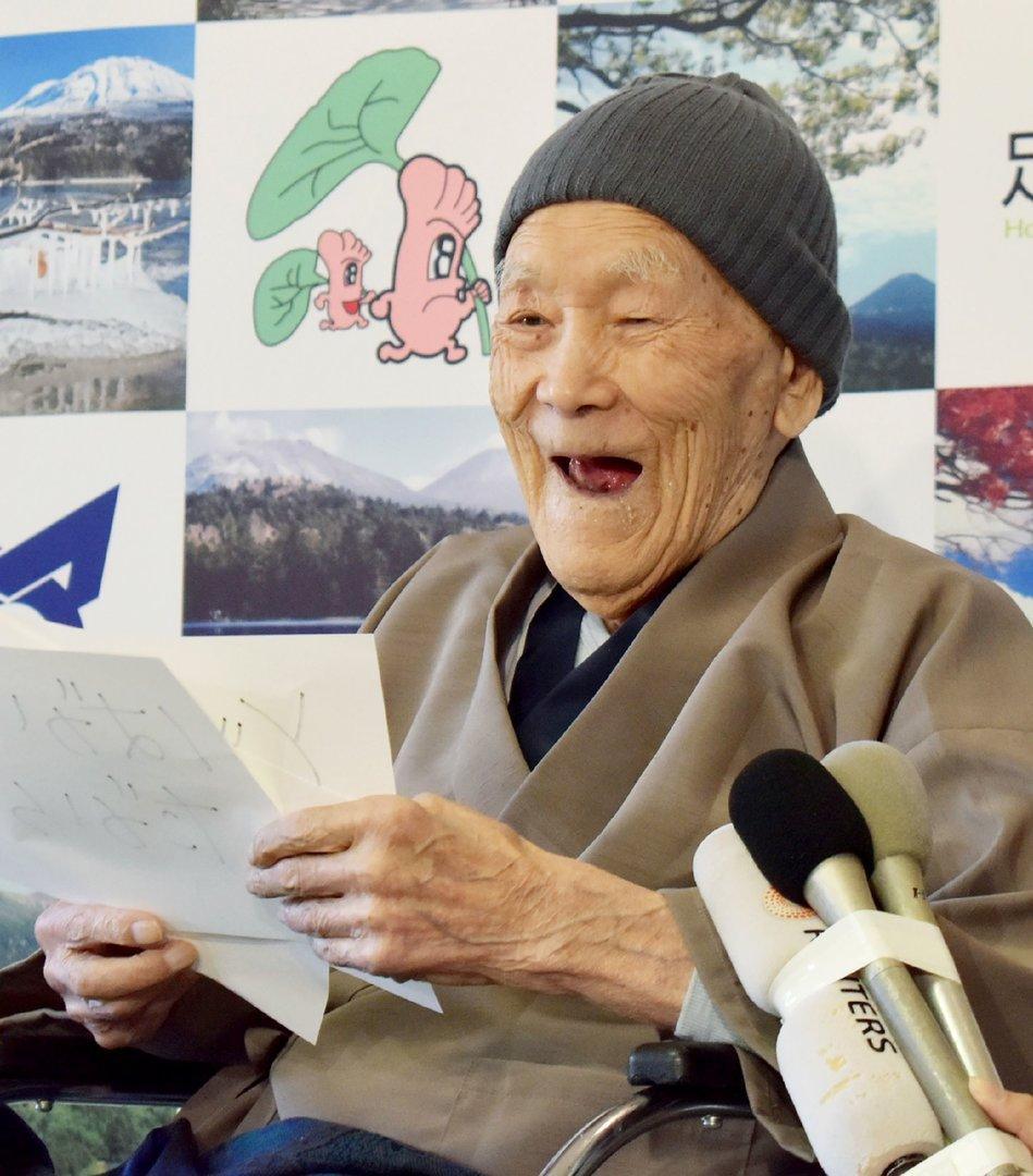 Ältester Mann der Welt gestorben: Wie alt kann ein Mann werden?