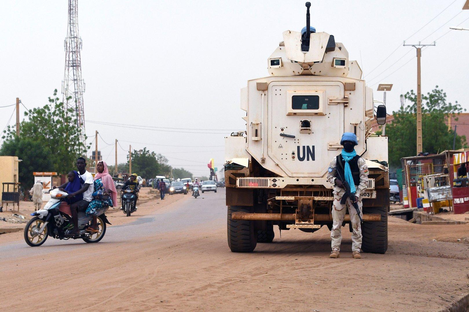 Angriff auf UN-Stützpunkt in Mali: Mindestens acht Blauhelme tot