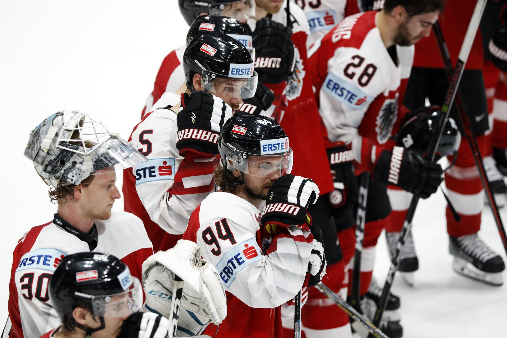 Eishockey-WM: Österreich steigt nach Penaltyschießen ab