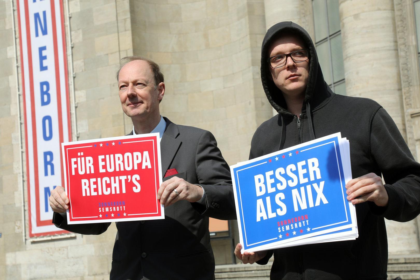 """Sonneborn zu von der Leyen: """"Europa nicht den Laien überlassen"""""""