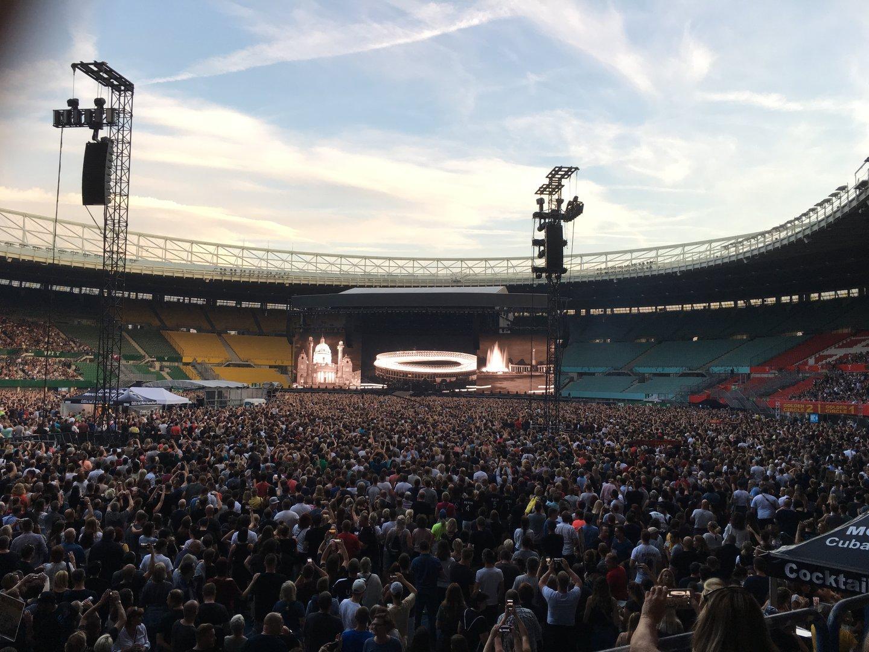 Bon Jovi in Wien: Hitfeuerwerk und Stimmprobleme