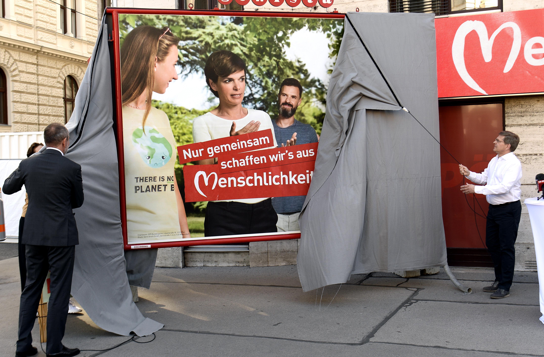 """SPÖ setzt im Wahlkampf auf  """"Menschlichkeit"""" und Klima"""