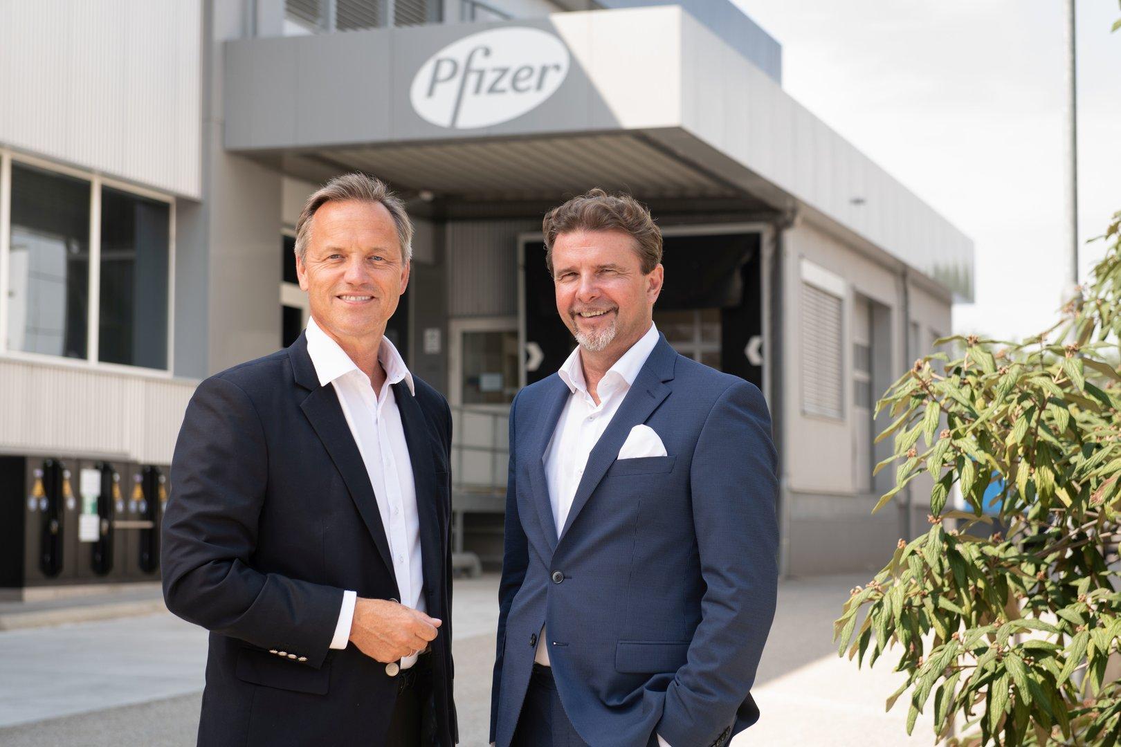 Pfizer baut Impfstoff-Werk in Orth an der Donau aus