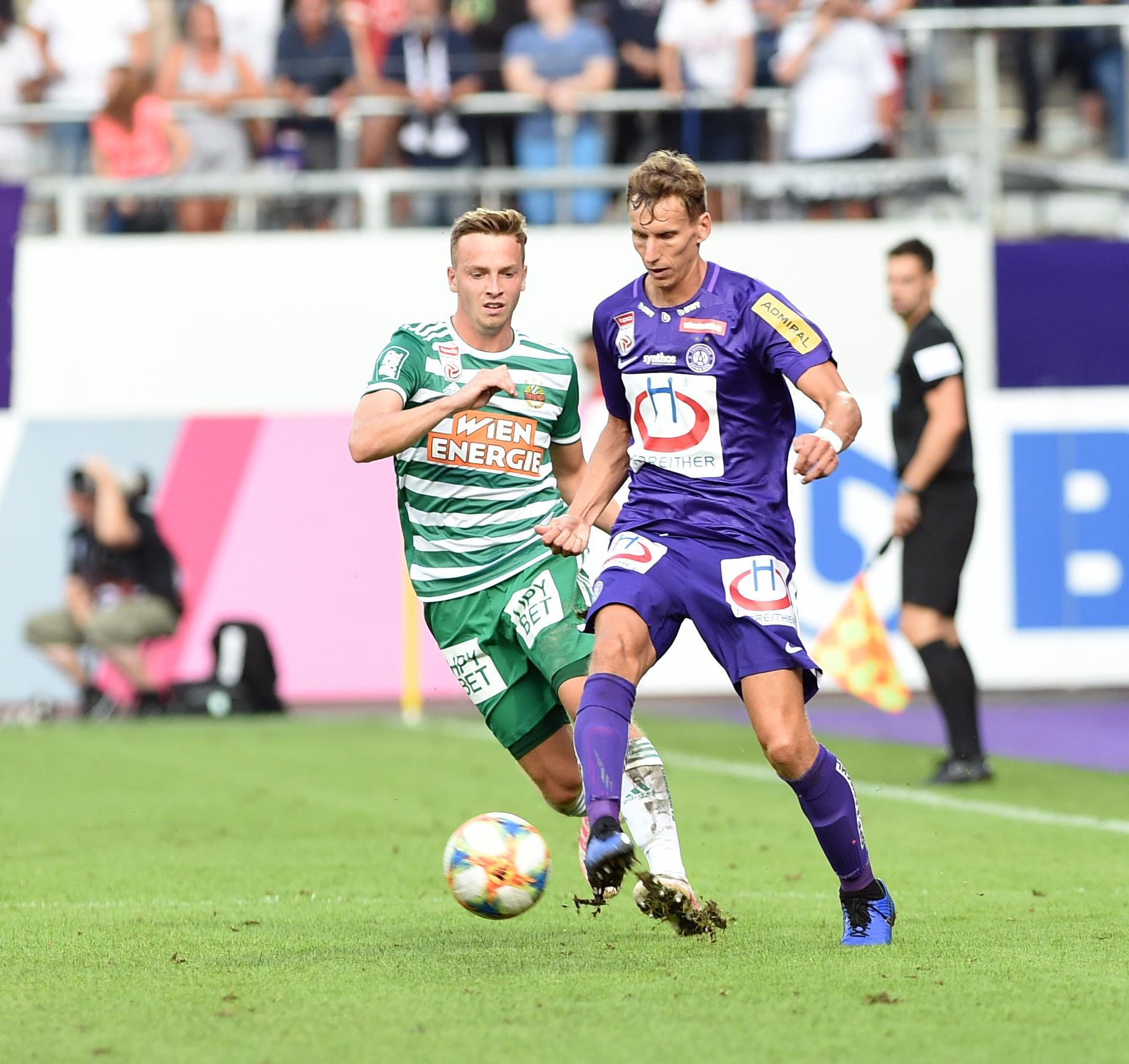 FUSSBALL TIPICO BUNDESLIGA / GRUNDDURCHGANG: FK AUSTRIA WIEN UND SK RAPID WIEN
