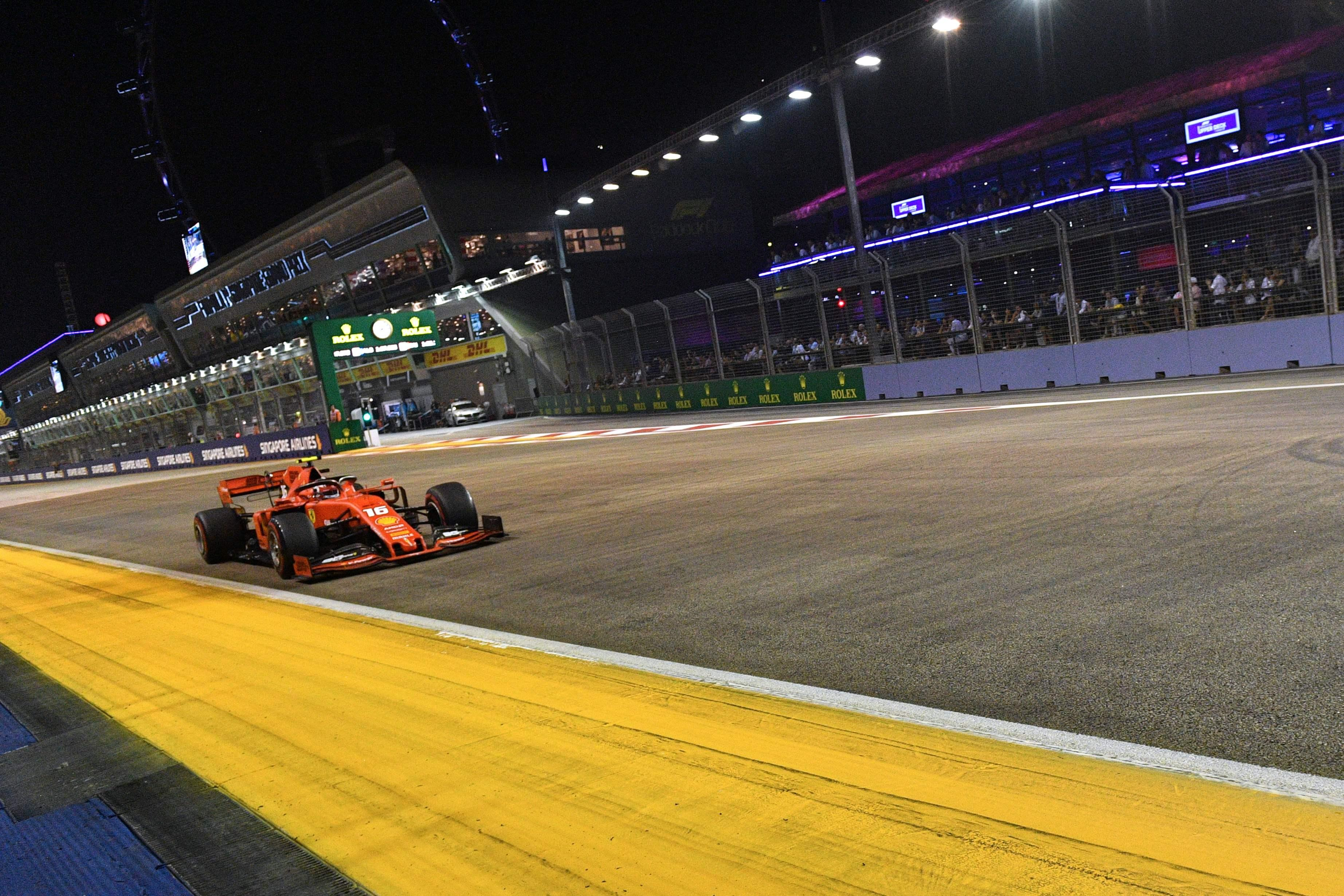 Dritte Poleposition in Folge für Ferrari-Youngster Leclerc