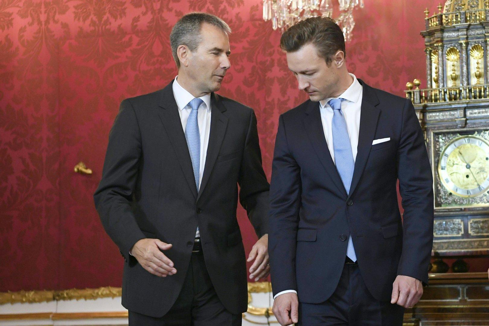 Kurz baut Finanzministerium um: Gernot Blümel ante portas