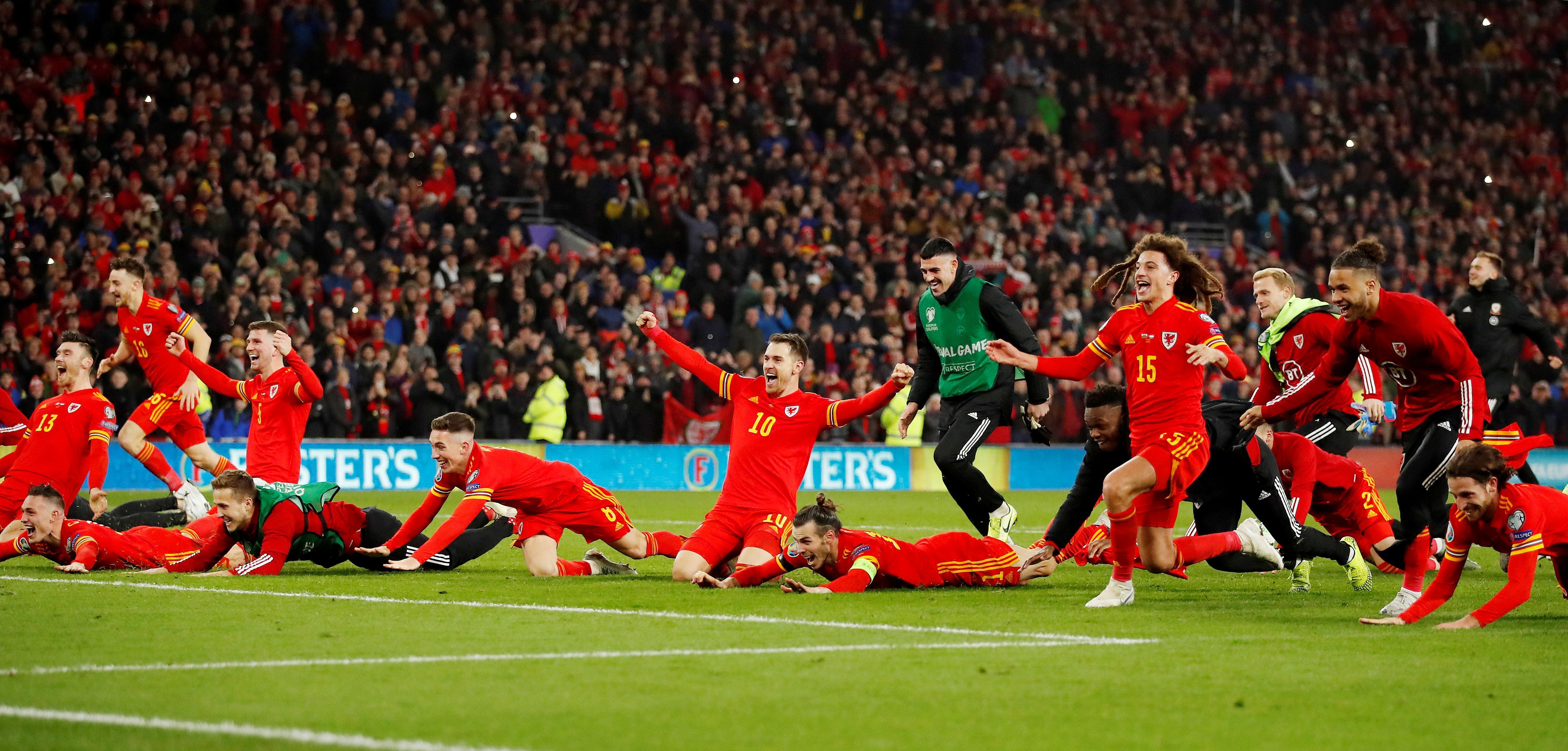 Letztes Ticket: Aaron  Ramsey schießt Wales zur EM 2020