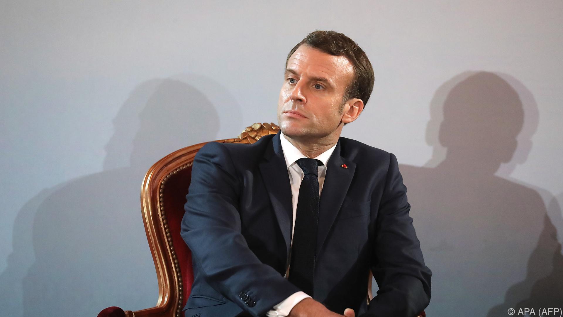 Demonstranten wollten Macron bei privatem Theaterbesuch stören
