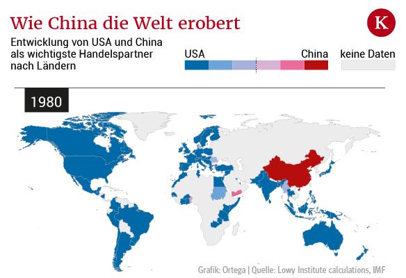 So breitet sich China in der Welt aus
