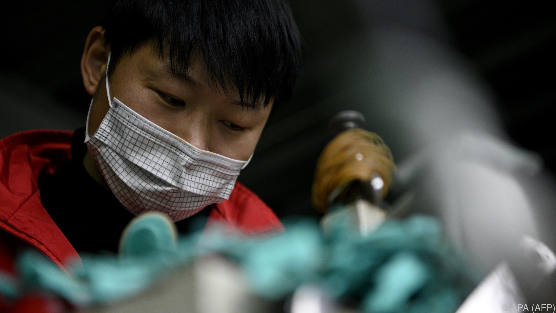 Coronavirus - Industrie Chinas so stark eingebrochen wie noch nie