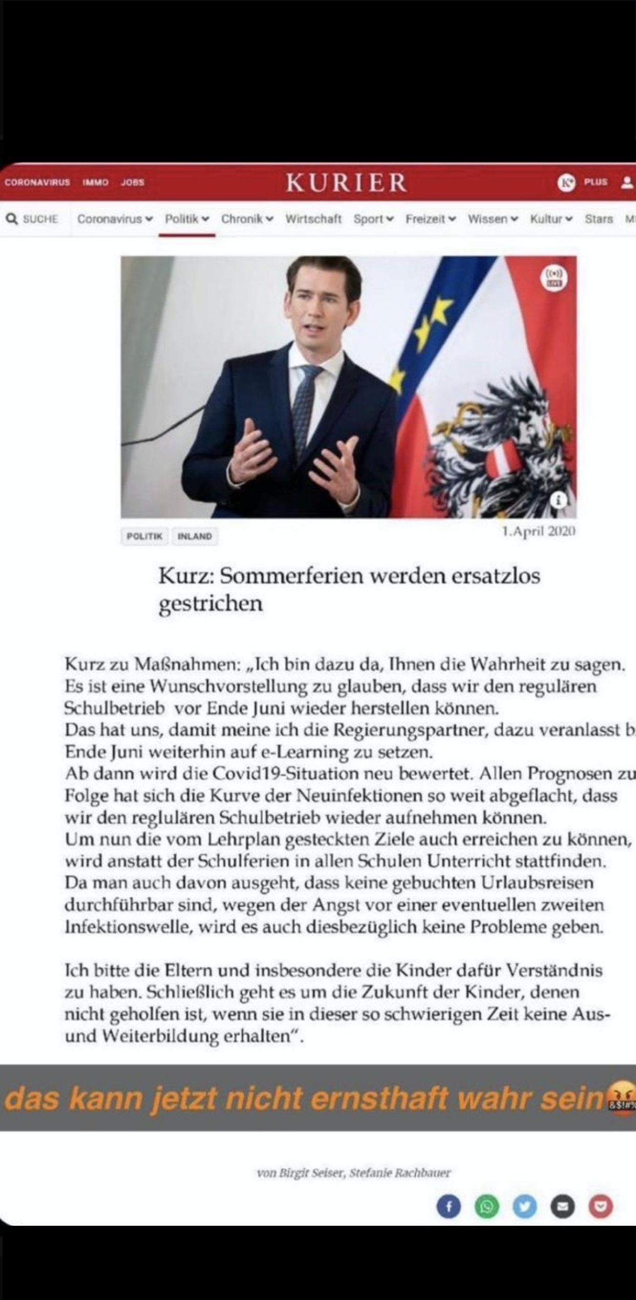 """Achtung FAKE-News - und was macht eigentlich die """"WHO""""?"""