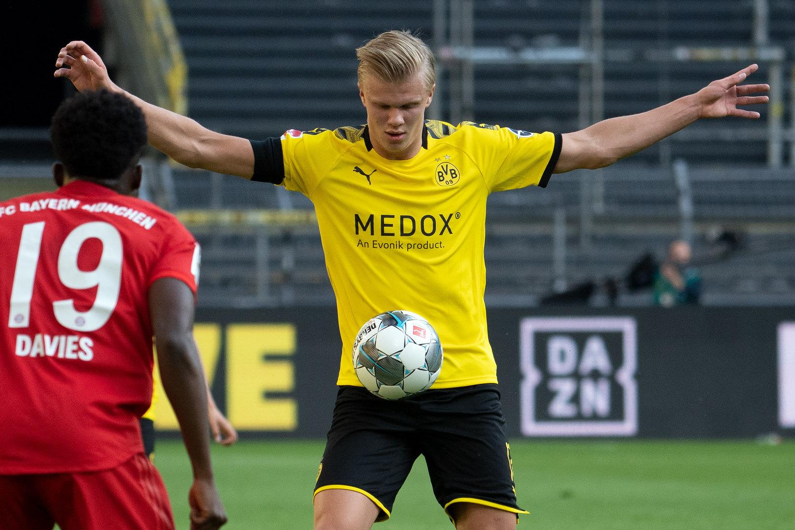 Dortmund muss auf Stürmerstar Haaland verzichten