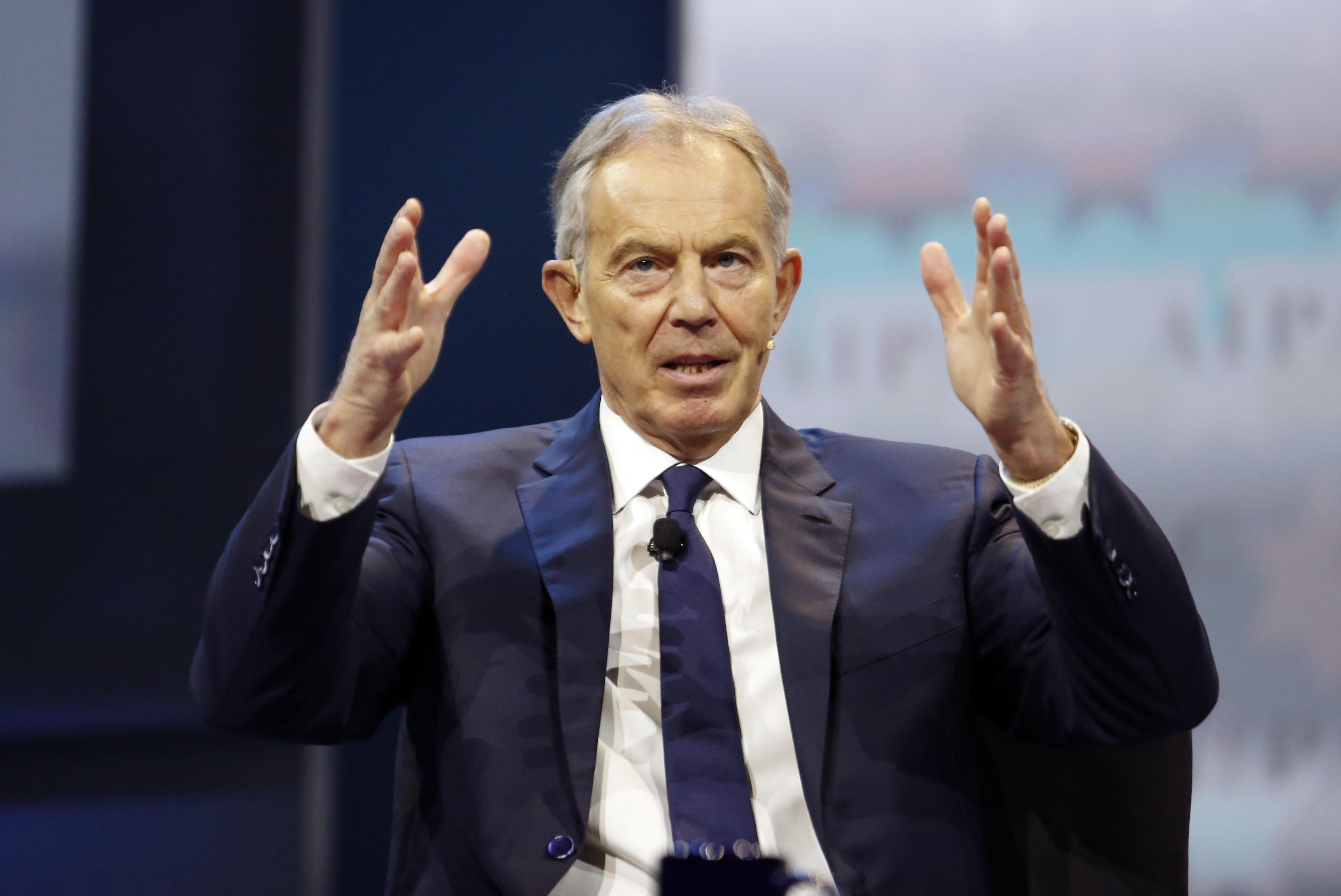 Der ehemalige britische Premierminister Tony Blair