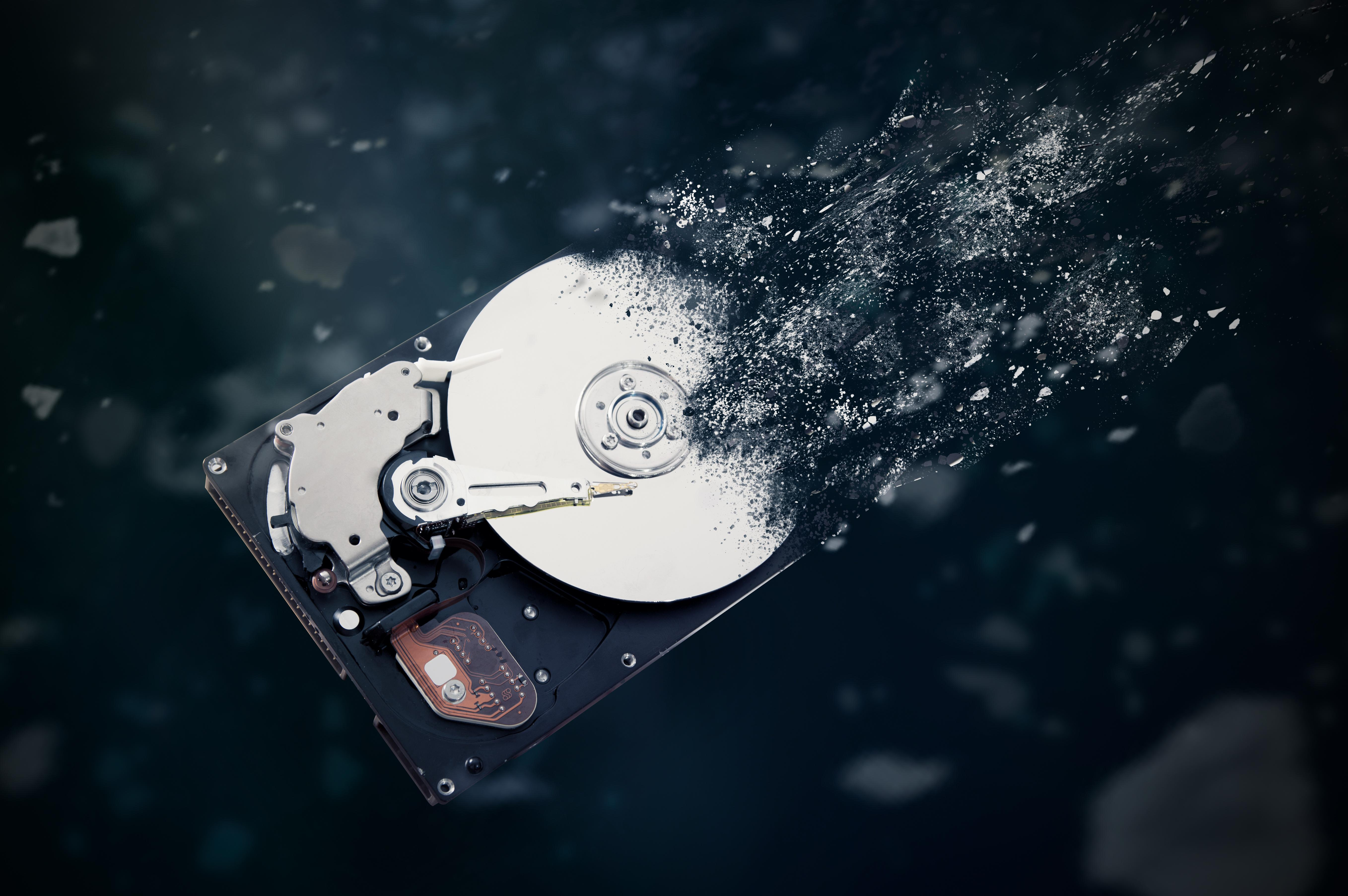 Schredder-Affäre: Festplatten-Vernichter jetzt im Kanzleramt