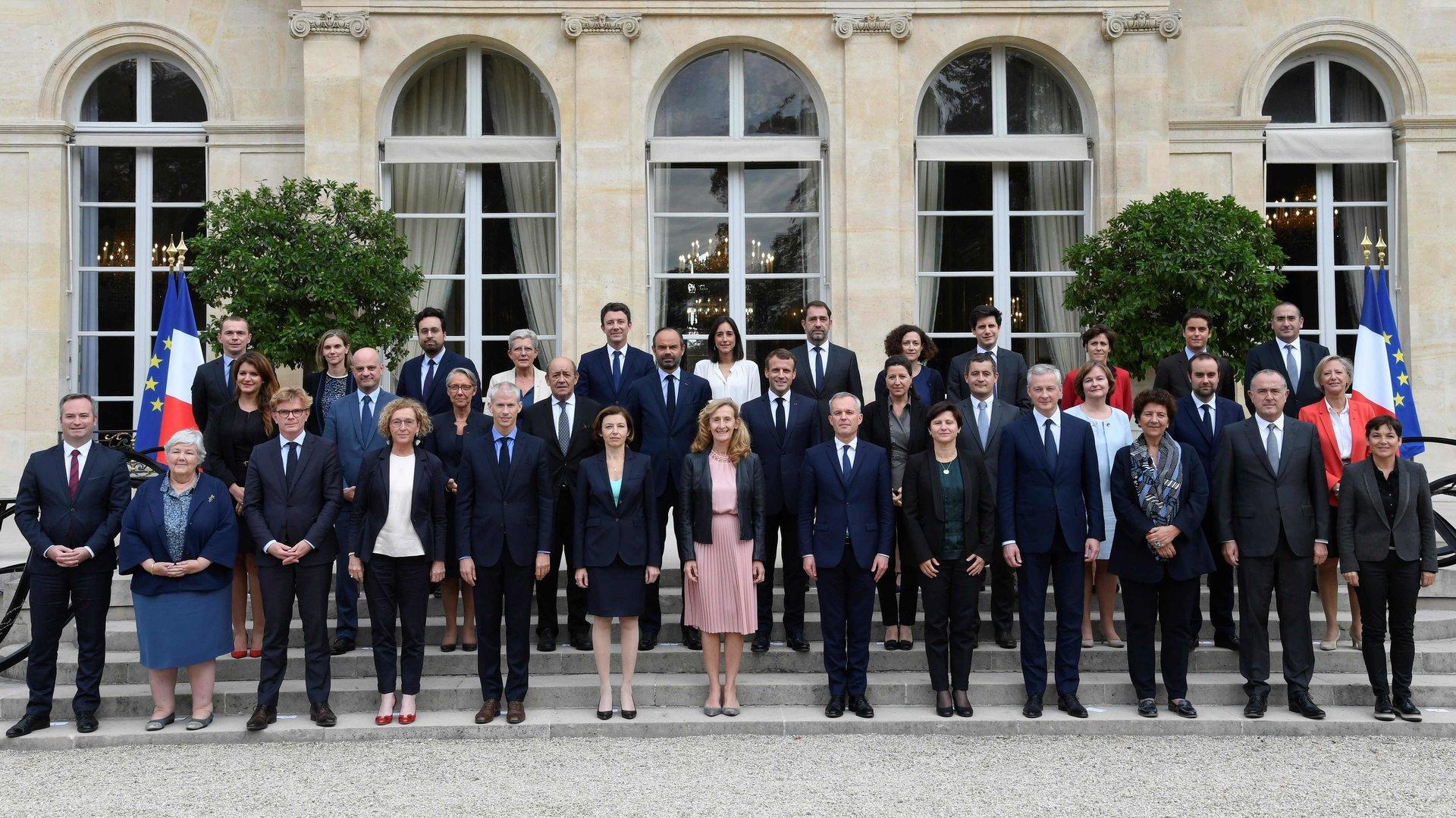Komplette französische Regierung zurückgetreten