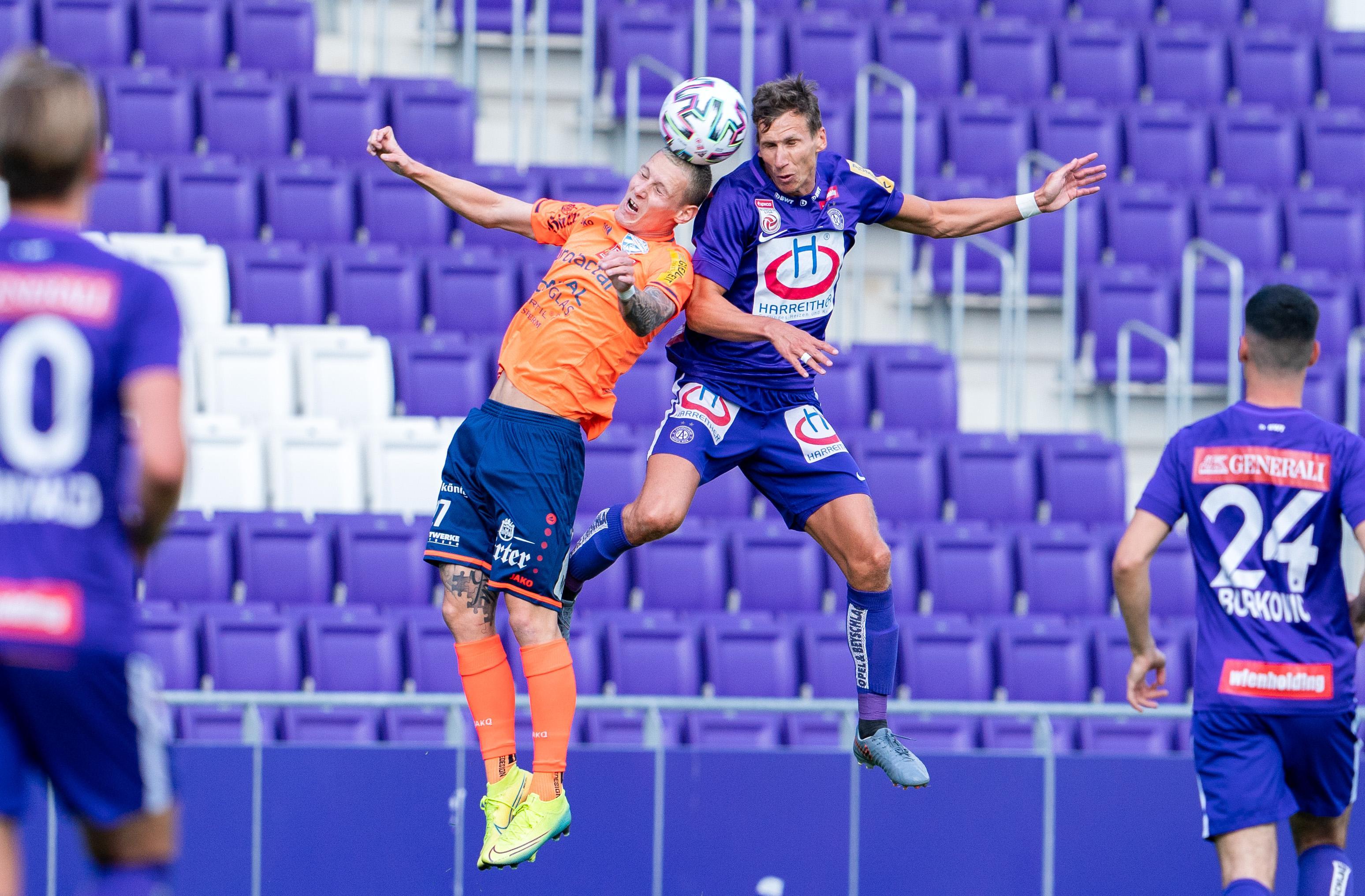 Play-off-Finale live: So steht's bei Austria gegen Hartberg
